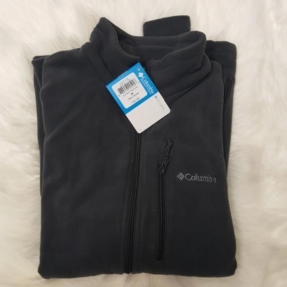 be5094feede Columbia Jackets & Coats   Mens Full Zip Fleece Jacket Sweatshirt M ...